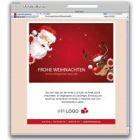 E-Card Santa und Rudi