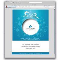 E-Card Weihnachtsrahmen