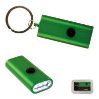Flat Light Schlüsselring grün