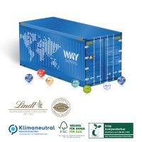 Container Adventskalender Lindt - kompostierbares Inlay