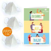 """Care Paket """"Atemschutz"""": FFP2/KN95-Masken"""