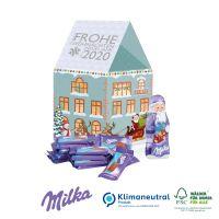 Präsent Weihnachtshaus Milka