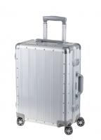 Aluminium Reisekoffer, silber
