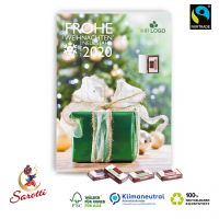 Wand-Adventskalender Fairtrade Sarotti