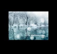 Postkarte Winterlandschaft