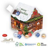 Weihnachtshaus Adventskalender Lindt