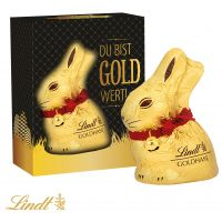 Du bist Gold wert – Lindt Goldhase