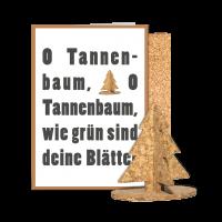 Korkkarte Tanne