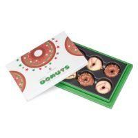 6 Xmas Donuts