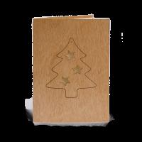 Holzkarte - Tanne