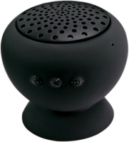 Bluetooth-Speaker round (black)