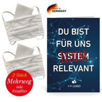 """Care Paket """"Alltagsmaske"""": 2x Stoffmaske"""