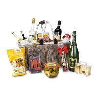 Geschenkkorb XXL - Einkaufskorb mit 14 leckeren Produkten