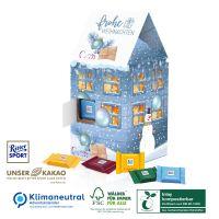 Adventskalender Tower-Haus Ritter SPORT - kompostierbares Inlay