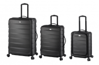 3er-Reisetrolley-Set, grau
