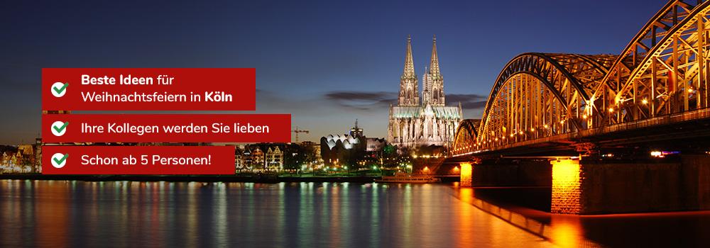 Weihnachten 2019 Köln.Ideen Für Weihnachtsfeiern In Köln 2019 Weihnachtsplaner
