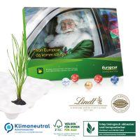"""Tisch-Adventskalender Lindt Kugeln """"Gourmet Edition"""" - kompostierbares Inlay"""
