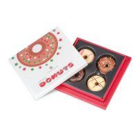 4 Xmas Donuts