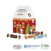 Präsent Weihnachtshaus Miniatures Mix