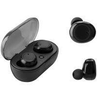 Bluetooth-Earbuds mit Ladeschale schwarz