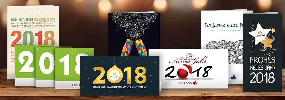 Neujahrskarten 2018