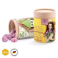 Papierdose Eco Maxi mit Glühwein Herzen