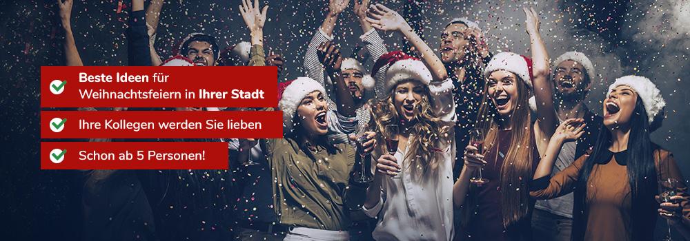 Feiern in ganz Deutschland