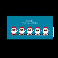 Weihnachtsteam - Santas