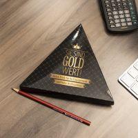 Sie sind Gold wert – Lindt Pyramide