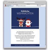 E-Card Weihnachtsteam - Team