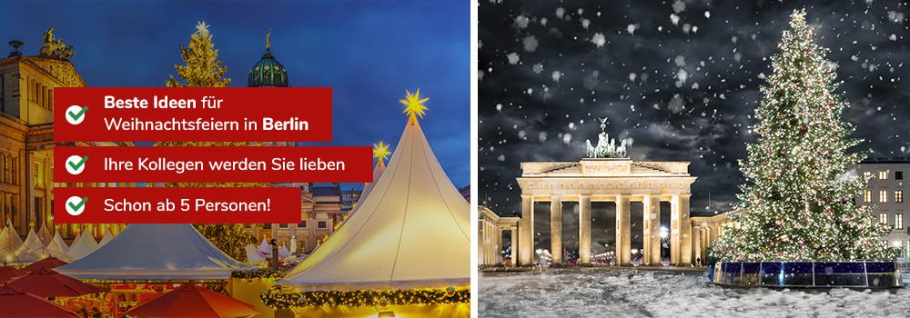 Weihnachtsfeier Ideen 2019.Ideen Weihnachtsfeiern In Berlin 2019 Weihnachtsplaner