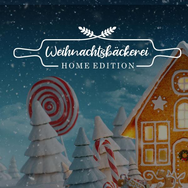 Weihnachtsbäckerei - Home Edition