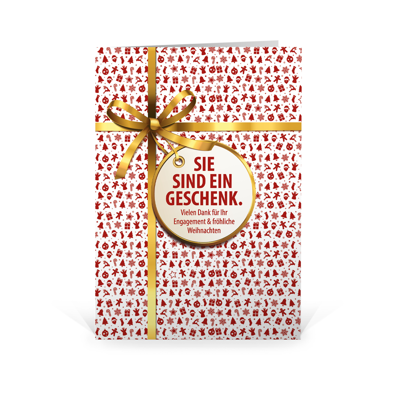 Weihnachtspräsent – Sie sind ein Geschenk   Weihnachtsplaner